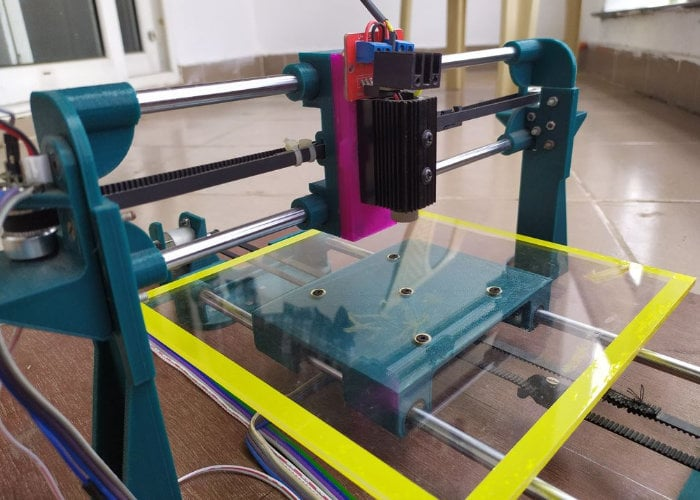 Arduino pen plotter and laser engraver - Geeky Gadgets