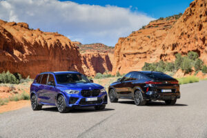 BMW X5 M Competition and BMW X6 M Competition