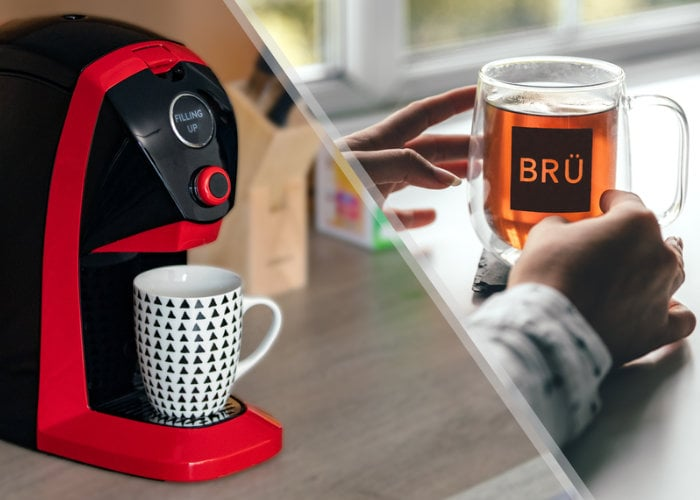 BRU tea brewing machine