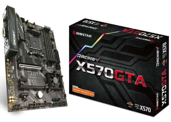 Biostar Racing X570GTA motherboard