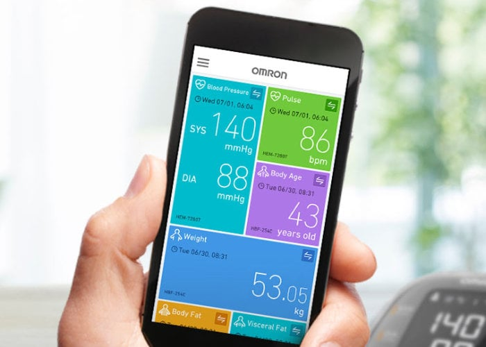 New Omron Apple Health blood pressure monitor unveiled