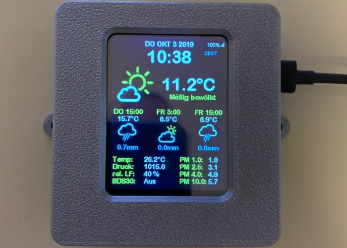 DIY Weather Station project