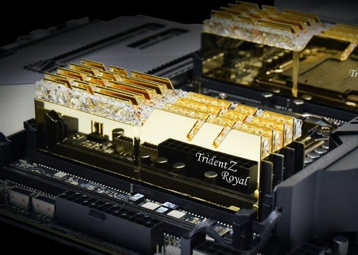 G.SKILL DDR4 4000 CL15 32GB memory kits offer extreme low latency