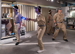 Ghostbusters AR experience