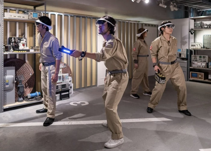 Sony AR prototype headset introduced at Ghostbusters expererience