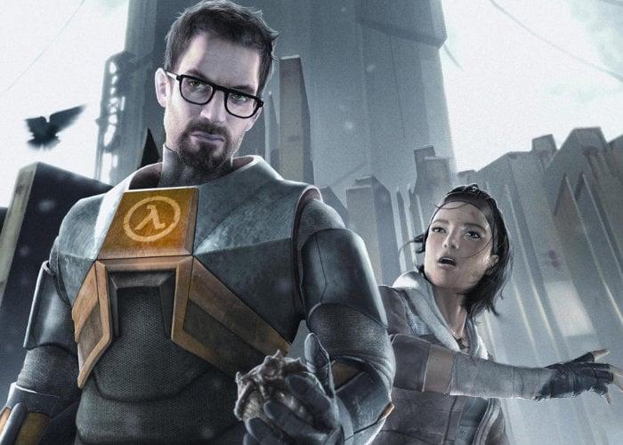 Half-Life VR code