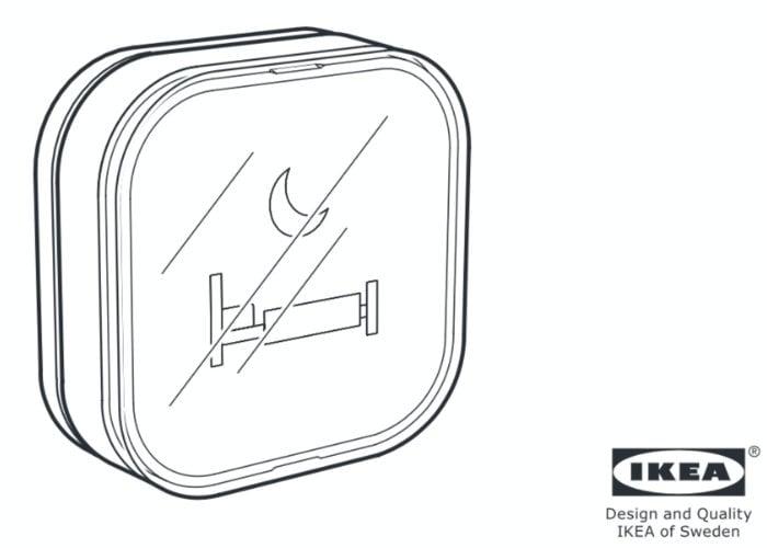 IKEA smart button leaked