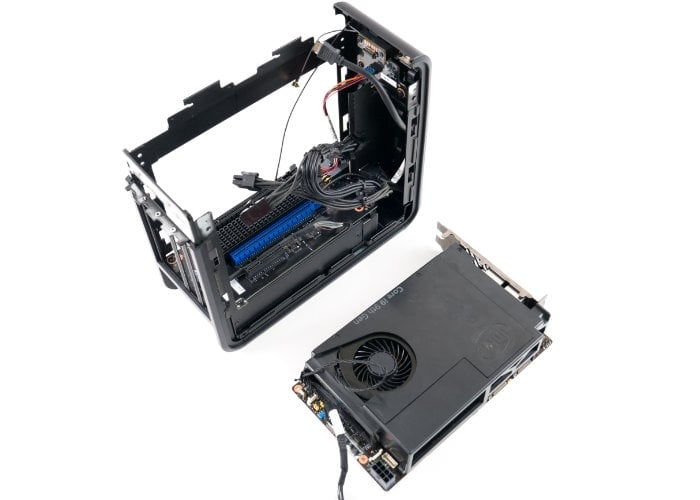 Intel Ghost Canyon NUC mini PC teardown