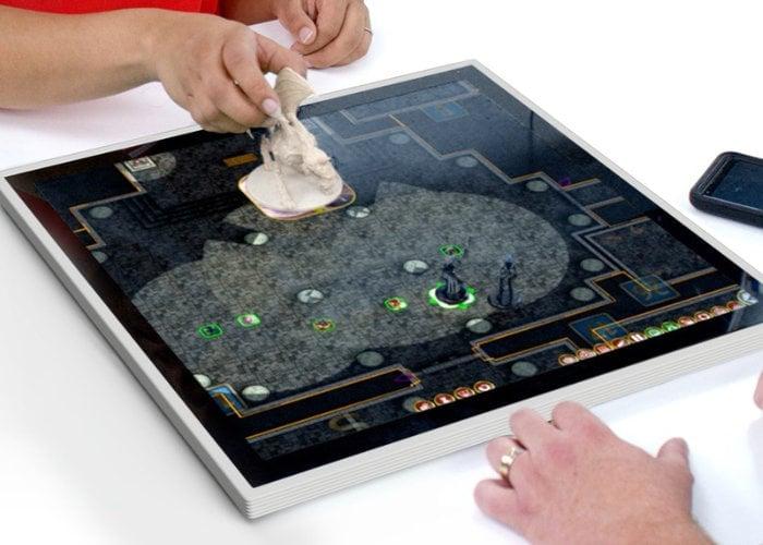 Gameboard-1 interactive, touchscreen tabletop board