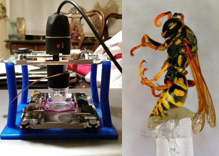 LadyBug miniature microscope