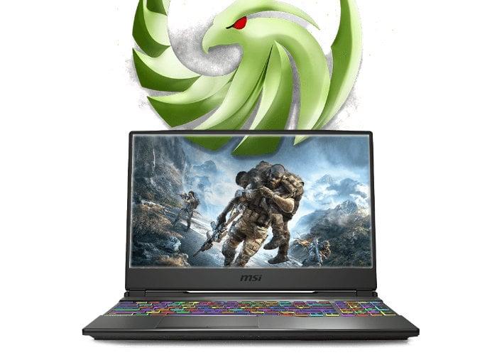 Alpha 15 gaming laptop