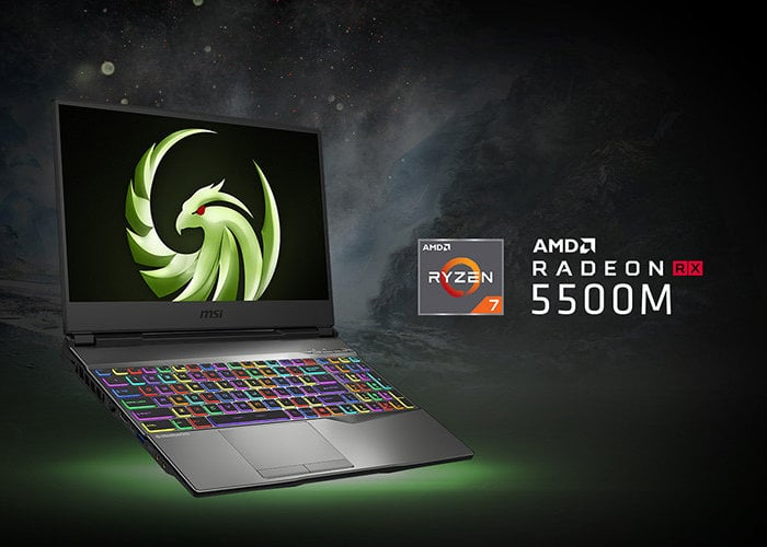 New MSI Alpha 15 gaming laptop features first 7nm technology