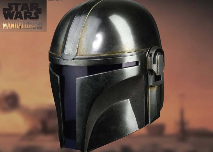 Mandalorian replica helmet