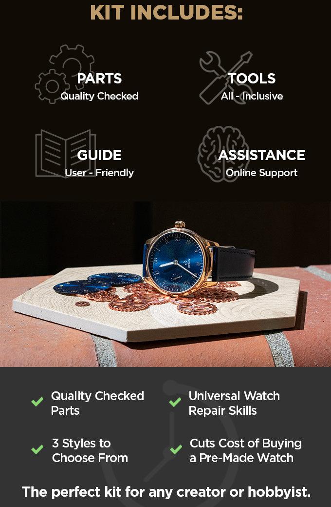 Mechanical watch kit