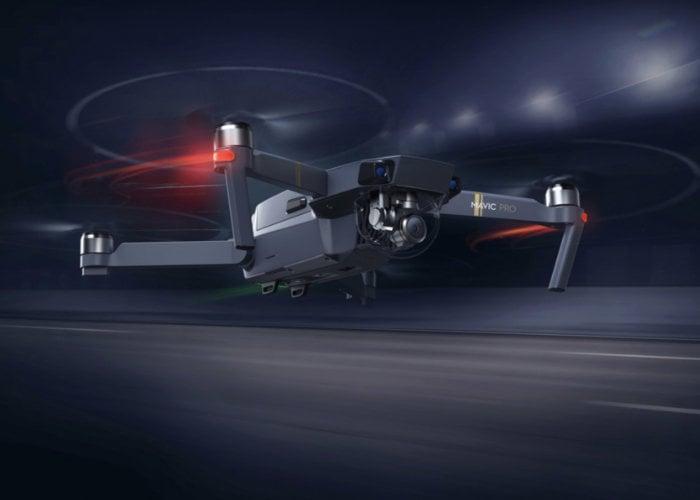 New DJI Mavic Mini drone spotted at FFC