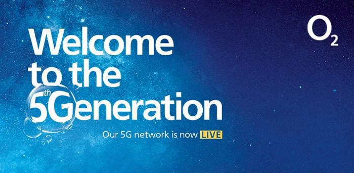 O2 5G network launched in the UK