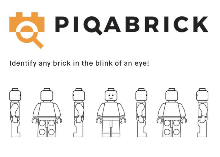 Identify your LEGO bricks with Piqabrick