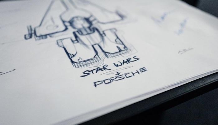 Porsche Star Wars spaceship