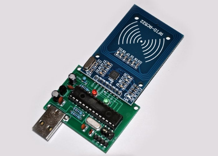 Fast RFID reader for Arduino and Raspberry Pi projects