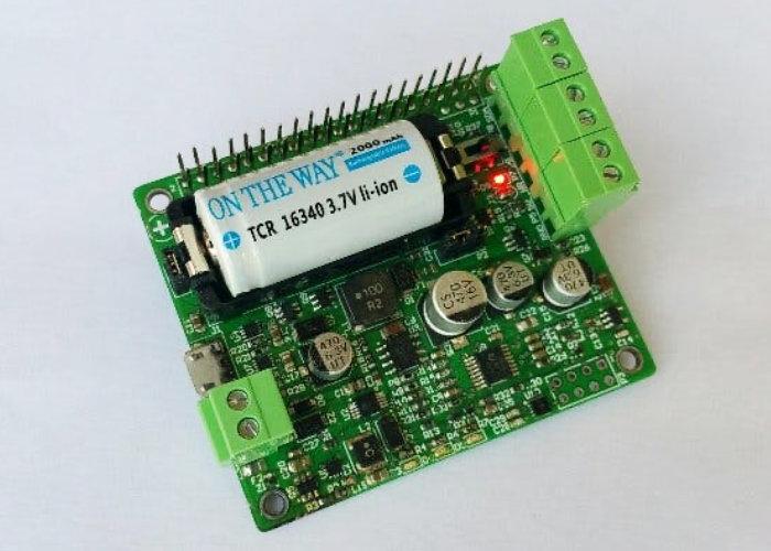 Raspberry Pi UPS board with battery – Pi16340 Smart UPS
