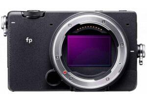Sigma compact full-frame mirrorless camera