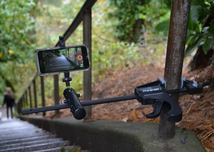 Smartphone camera mount system