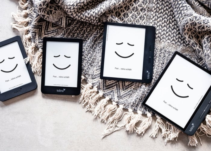 Four new Tolino eReaders unveiled running Android OS