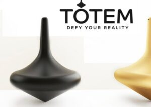 Totem intelligent spinning top