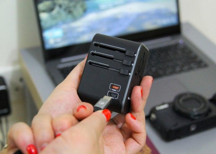 USB-C travel adapter