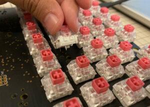 Vault 1 DIY mechanical keyboard kit