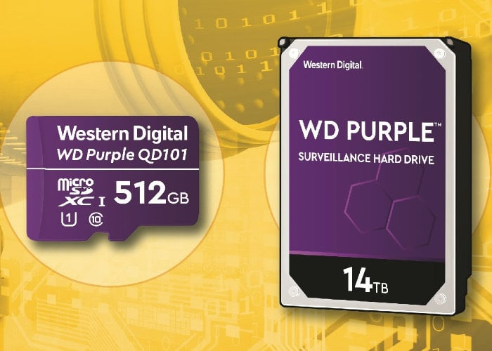 WD Purple storage