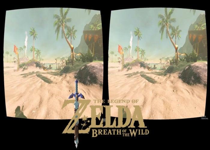 Legend of Zelda Breath of the Wild VR port demonstrated