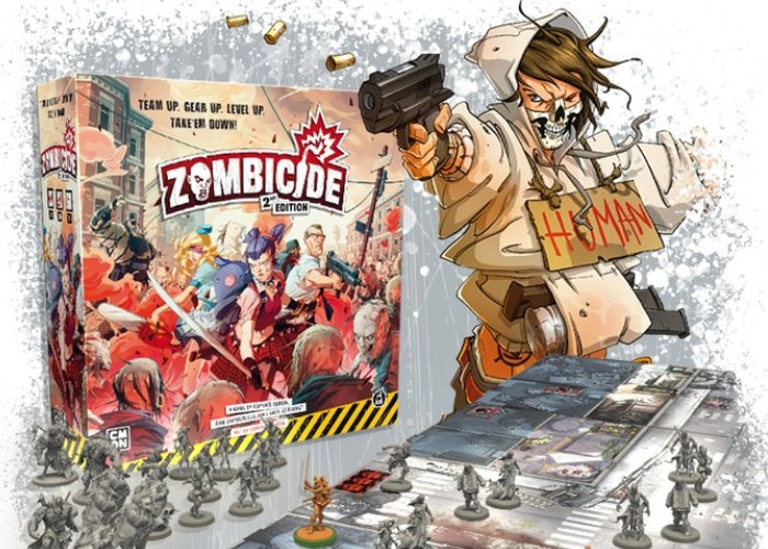 Zombicide 2nd Edition announced by CMON