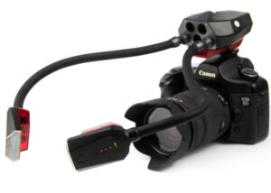 camera flash arms