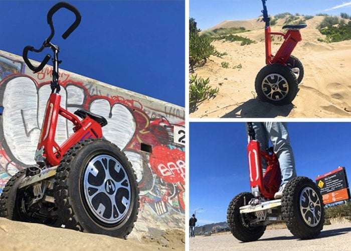 FutureGo eco-friendly all-terrain self-balancing electric scooter