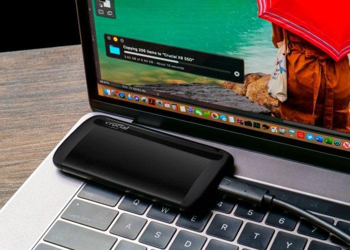 external SSD drive