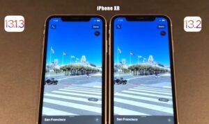 iOS 13.2 vs iOS 13.1.3