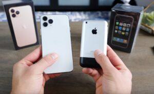 iPhone 11 Pro vs iPhone 2G