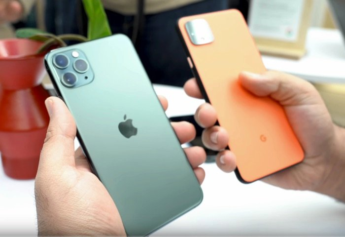 iPhone 11 Pro vs Google Pixel 4