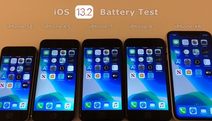 iOS 13.2 battery life