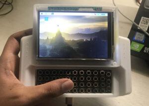 mini UMPC powered by a Raspberry Pi