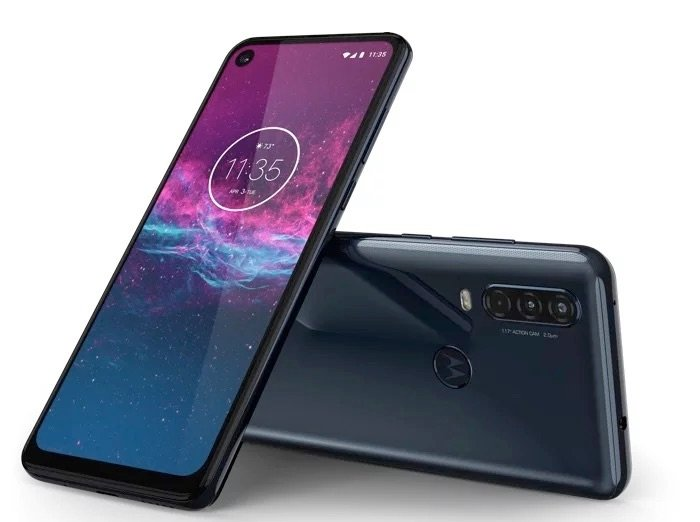 Motorola One Action smartphone up for pre-order
