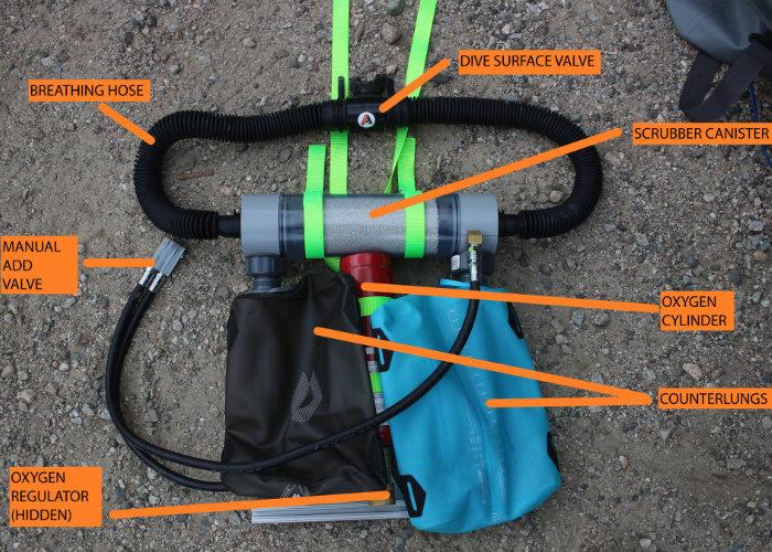 oxygen rebreather