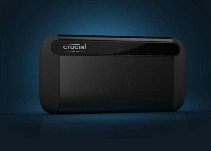 portable external SSD drive