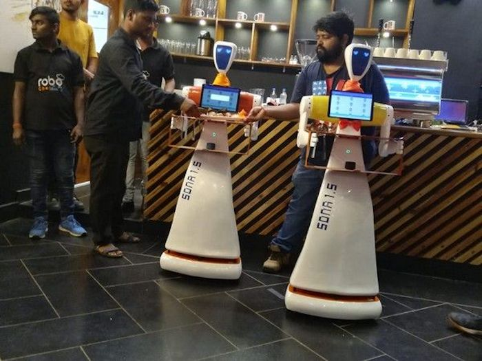 Restaurant In India Has Robots That Can Take Orders