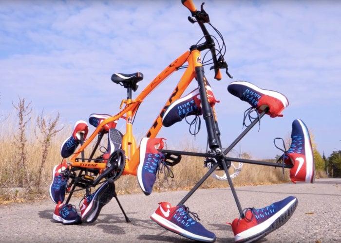 shoe Bicycle wheels