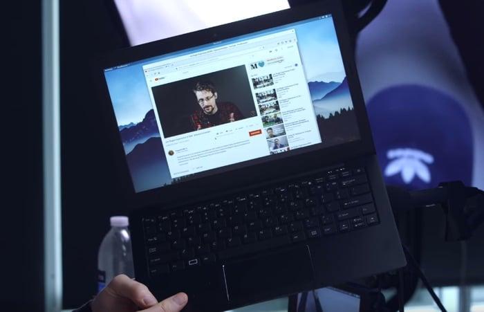 Edward Snowden's favorite Laptop