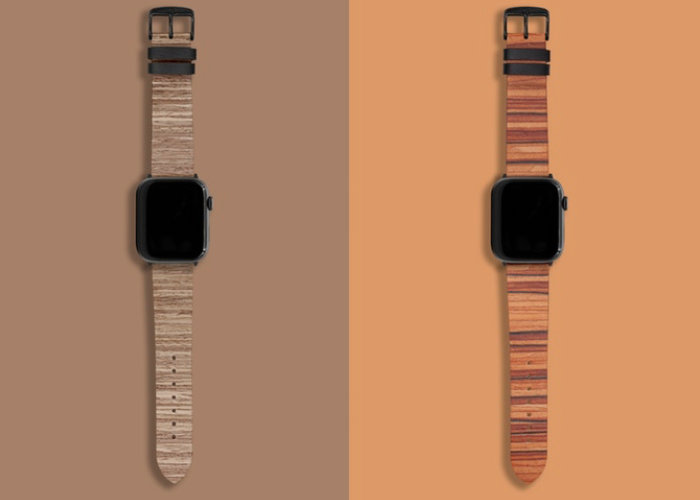wood apple watch straps