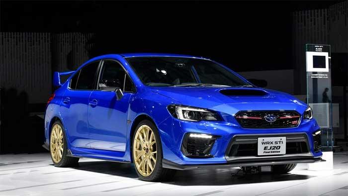 2020 Subaru Wrx Sti Ej20 Final Edition Debuts In Tokyo