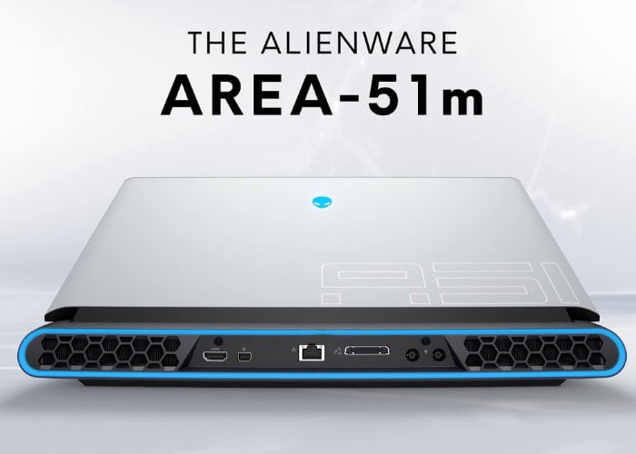 Alienware Area-51m laptop GPU